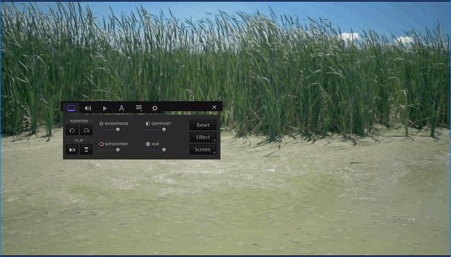 Панель управления KMPlayer Media Player Classic